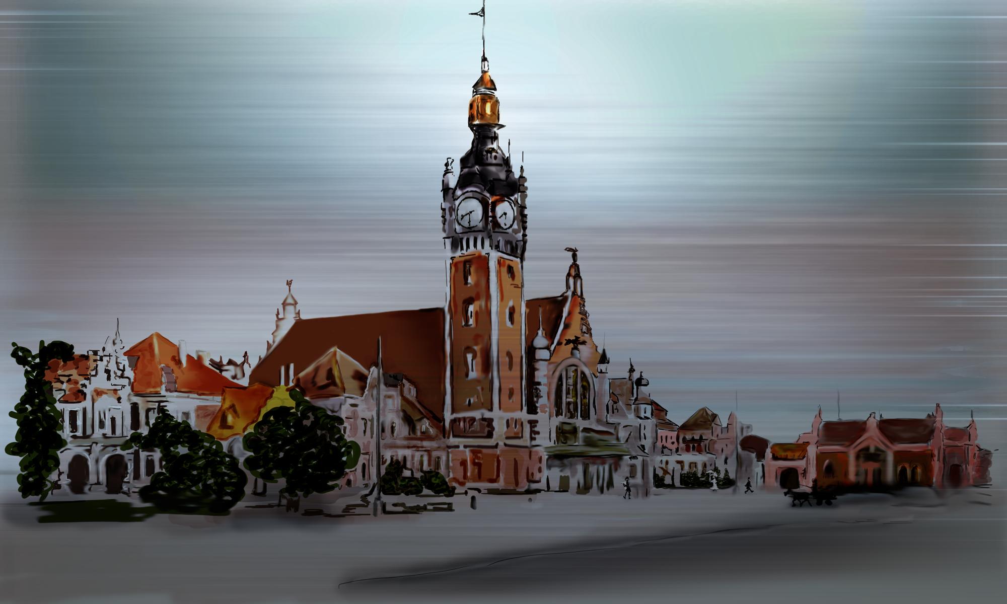 Danzig Hauptbahnhof (Gdańsk – dworzec główny)