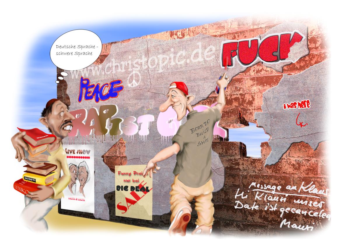 Deutsche Sprache – schwere Sprache
